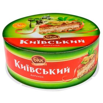 Торт БКК Киевский подарок з арахисом 850г