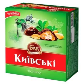Тістечка БКК Київські 200г - купити, ціни на ЕКО Маркет - фото 1