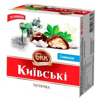 Пирожные БКК Киевские с кокосом 200г