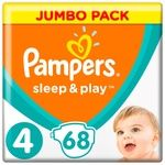 Pampers Sleep & Play Size 4 Maxi Baby Diapers 9-14kg 68pcs
