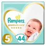 Pampers Premium Care Size 5 Junior Diapers 11-16kg 44pcs