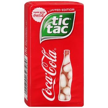 Драже Тіc Таc Coca Cola 49г - купить, цены на Ашан - фото 1