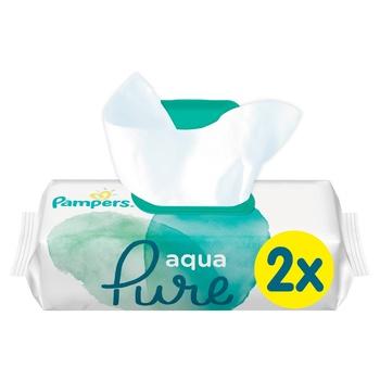 Cалфетки Pampers Aqua Pure 2x48шт