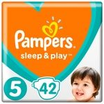 Підгузки Pampers Slip & Play розмір 5 Junior 11-16кг 42шт