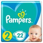 Подгузники Pampers Active Baby размер 2 Mini 4-8кг 22шт