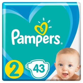 Подгузники Pampers Active Baby размер 2 Mini 4-8кг 43шт