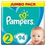 Подгузники Pampers Active Baby размер 2 Mini 4-8кг 94шт