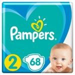 Подгузники Pampers Active Baby размер 2 Mini 4-8кг 68шт