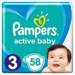 Подгузники Pampers Active Baby размер 3 Midi 6-10кг 58шт