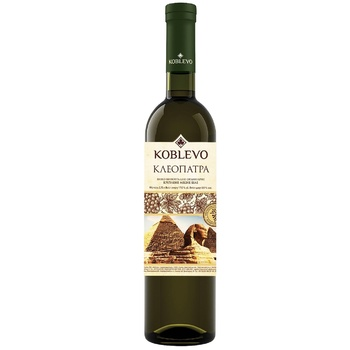 Koblevo Cleopatra White Strong Wine 17% 0,75l - buy, prices for CityMarket - photo 1