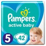 Подгузники Pampers Active Baby 5 11-16кг 42шт