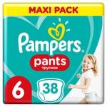 Підгузки-трусики Pampers Pants розмір 6 Extra Large  15+кг 38шт