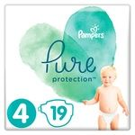Подгузники Pampers Pure Protection Maxi 9-14кг 19шт