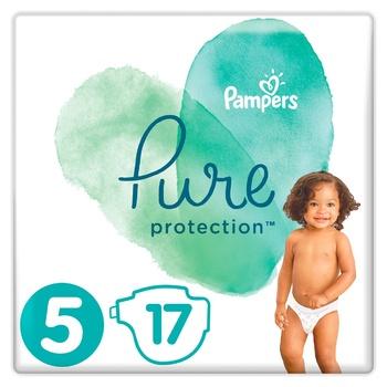 Подгузники Pampers Pure Protection Junior 11-16кг 17шт