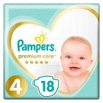Підгузки Pampers Premium Care розмір 4 Maxi 9-14кг 18шт