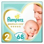 Pampers Premium Care Diapers Size 2 Mini 4-8kg 68pcs
