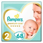 Підгузки Pampers Premium Care розмір 2 Mini 4-8кг 68шт