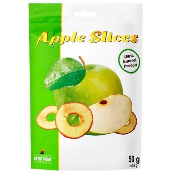 Слайсы яблочные Spektrumix зеленые 50г - купить, цены на Восторг - фото 1