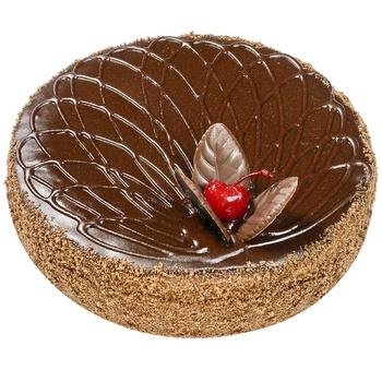 Торт БКК Пражский с вишней 850г - купить, цены на Метро - фото 2