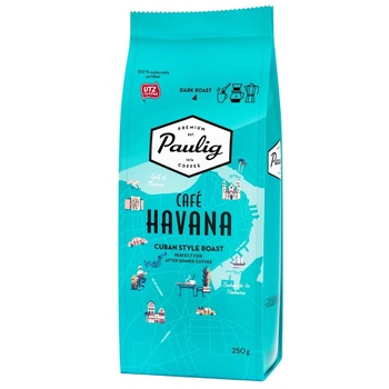 Paulig Cafe Havana Ground Coffee 250g - buy, prices for EKO Market - photo 1