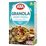 Axa Muesli with with Flax Seeds, Cranberries and Coconut 270g - buy, prices for Auchan - photo 1