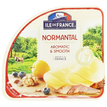 Сыр Ile de France Normantal 50% 150г