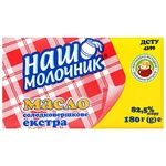 Nash Molochnyk Extra Sweet Cream Butter 82,5% 180g