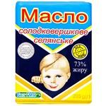 Масло ПМКК Селянське сладкосливочное 73% 200г
