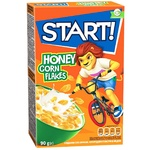 Start! Honey Corn Flakes Dry Breakfast 90g