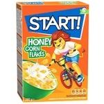 Start! Honey Corn Flakes 280g