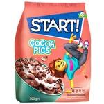 Готовый завтрак Start! Cocoa Pics зерновой 500г