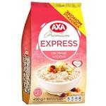 Хлопья овсяные AXA Premium Express быстрого приготовления 450г
