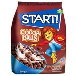 Start! Cocoa Balls Ready Cereal Breakfast 500g