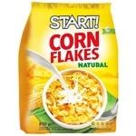 Сухие завтраки Start! хлопья кукурузные натуральные 850г
