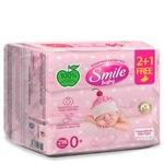 Серветки вологі Smile Baby 2+1