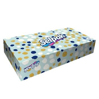 Серветки Selpak трьохшарові 100шт - купити, ціни на Восторг - фото 2