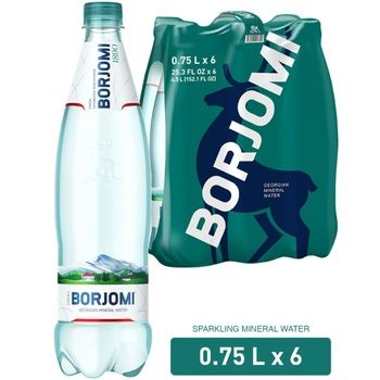 Borjomi carbonated water 750ml*6pcs