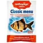 Корм Акваріус для риб таблетки 10г