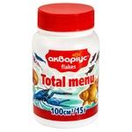 Корм для риб Акваріус Total Menu пластівці 15г