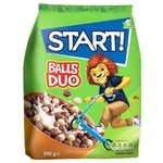 Start! Duo Balls Ready Cereal Breakfast 500g