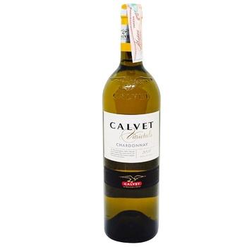 Calvet Varietals Chardonnay White Dry Wine 12% 0,75l