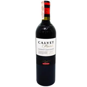 Вино Calvet Varietals Cabernet Sauvignon красное сухое 13% 0,75л Франция