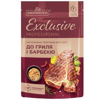 Натуральная приправа без соли для гриля и барбекюExclusive ProfessionalPRIPRAVKA 40г