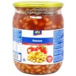 Фасоль Aro в томатном соусе 500мл