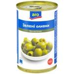 Оливки зелені Aro без кісточки 314г