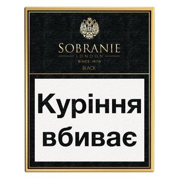 Cigarettes Sobranie Laube Black