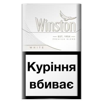 Сигареты Winston White - купить, цены на СитиМаркет - фото 1