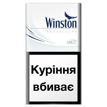 Сигареты Winston Blue Super Slims