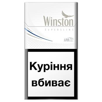 Сигареты Winston Silver Super Slims