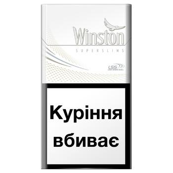 Сигареты Winston White Super Slims - купить, цены на ЕКО Маркет - фото 1